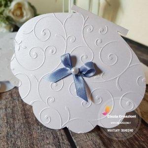 Partecipazione matrimonio conchiglia PM037
