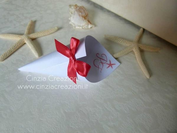 coni portariso stella marina stampata