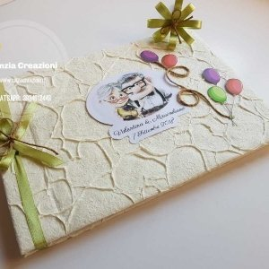 guestbook matrimonio up disney