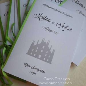 libretto messa duomo milano