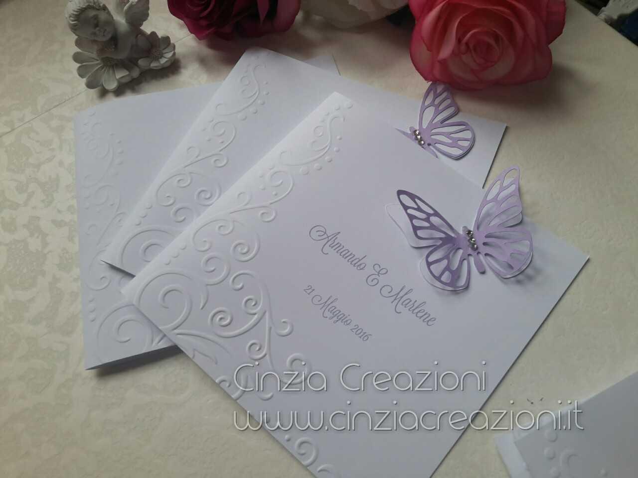 Matrimonio In Lilla : Menu matrimonio farfalla lilla m cinzia creazioni