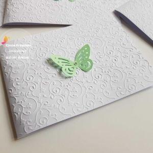 partecipazione farfalla Floreale