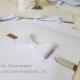 partecipazione matrimonio fiocco carta