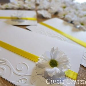 partecipazione nozze margherita