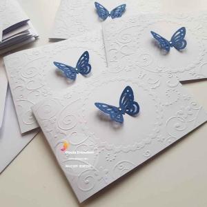 partecipazioni matrimonio farfalle