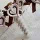 porta confetti matrimonio bottiglia cuoricino gesso