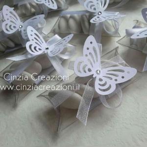 porta confetti matrimonio farfalla economico