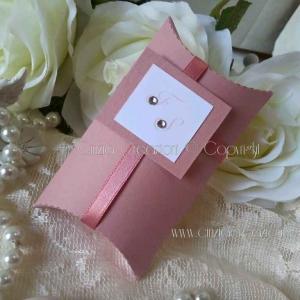porta confetti matrimonio scatolina iniziali sposi