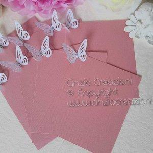 cartellino tableau semplice farfalla