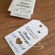 Etichetta matrimonio tema viaggio