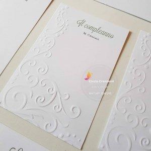 cartellino tableau nozze
