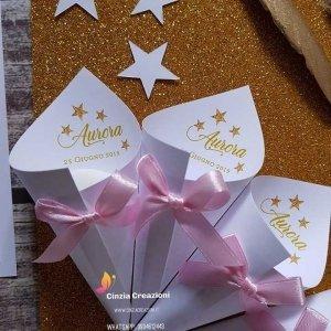 coni portaconfetti little star