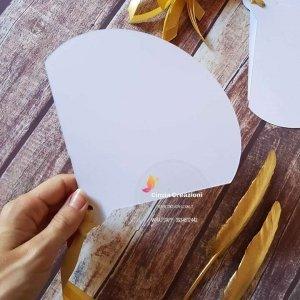 ventaglio bianco semplice