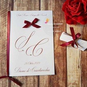 libretto chiesa sposi